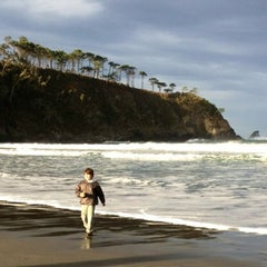 Photo taken at Playa de Barayo by Turismo A. on 12/31/2012