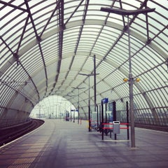 Photo taken at Station Amsterdam Sloterdijk by Terry M. on 6/11/2013