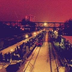 Photo taken at Станция «Одинцово» by Анар on 12/10/2012