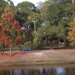 Photo taken at Atlantic Beach Dog Park by Ray M. on 12/4/2014