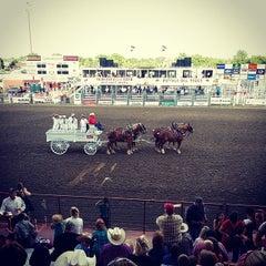 Photo taken at Wild West Arena by Nebraska O. on 6/21/2014