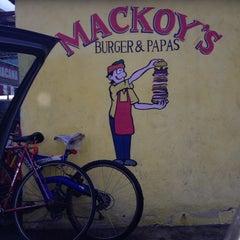 Photo taken at Mackoy's Burger & Papas by Alexha Y. on 9/21/2013