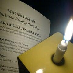 Photo taken at Gereja Katolik Santo Yohanes Penginjil by Sheila D. on 3/30/2013