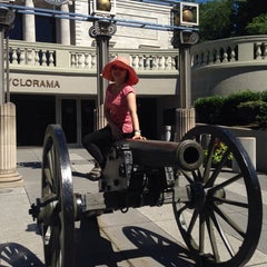 Photo taken at Atlanta Cyclorama & Civil War Museum by Fanny L. on 8/13/2014