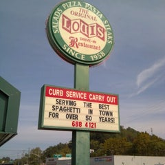 Photo taken at Louis' Original Drive-In by Bill E. on 9/30/2012