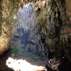 Photo taken at Callao Cave by Almarie D. on 6/12/2015