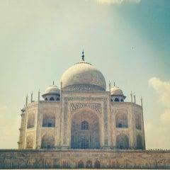 Photo taken at Agra | आगरा |آگره by Ritika B. on 9/26/2015