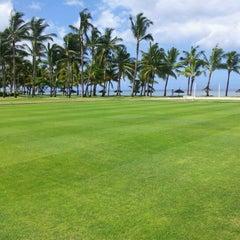 Photo taken at Sugar Beach Mauritius Hotel Resort & Spa by Marcus G. on 1/16/2013