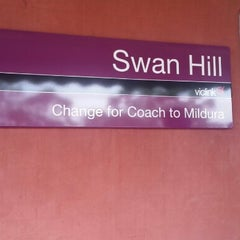 Photo taken at Swan Hill Train Station by Yana H. on 1/25/2013