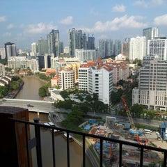Photo taken at Novotel Clarke Quay by Surachai S. on 10/25/2012