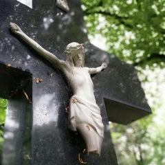 Photo taken at Ondrejský cintorín by Privacy P. on 4/26/2014