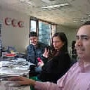 Photo taken at E-press by Alocuras P. on 10/23/2012