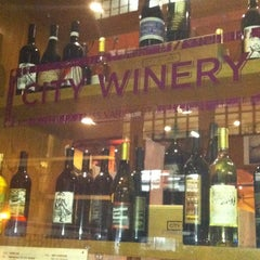 Photo taken at City Winery by Christine P. on 2/27/2013