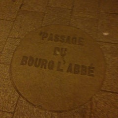 Photo taken at Passage du Bourg-l'Abbé by Charles P. on 11/30/2012