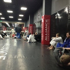 Photo taken at Alliance Gym & Fight Club by Igor S. on 4/9/2013