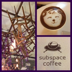 Photo taken at Subspace Coffeehouse by Rianna I. on 12/27/2012