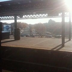Photo taken at MTA Subway - Astoria Blvd/Hoyt Ave (N/Q) by Lisa L. on 11/18/2012