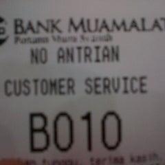 Photo taken at Bank Muamalat by Navy N. on 4/17/2013