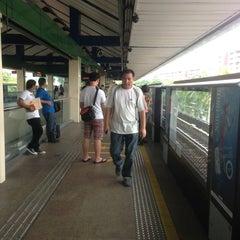 Photo taken at Yishun MRT Station (NS13) by Si M. on 7/14/2013