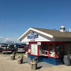 Photo taken at Dairy At The Dock by Steven D. on 8/3/2013