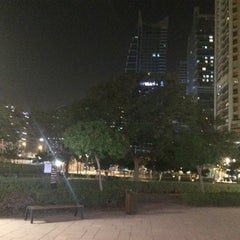 Photo taken at The walk @  Jumairah Lake towers by Boss M. on 9/2/2014