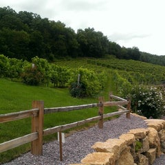 Photo taken at Wollersheim Winery by Risa B. on 7/27/2013