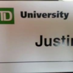 Photo taken at TD University by Justin L. on 4/14/2014