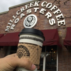 Photo taken at Millcreek Coffee Roasters by Rudi R. on 12/13/2014