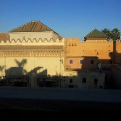 Photo taken at Saadian Tombs | قبور السعديين by Lorena C. on 12/15/2012