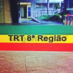 Photo taken at Tribunal Regional do Trabalho da 8ª Região by Herisson L. on 11/23/2012