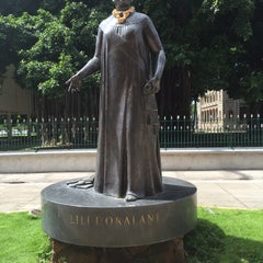 Photo taken at Queen Liliʻuokalani Statue by Haseeb N. on 10/11/2015