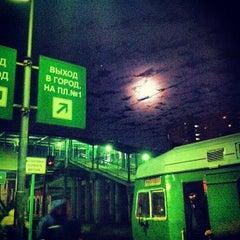 Photo taken at Станция «Одинцово» by Егор Г. on 10/30/2012
