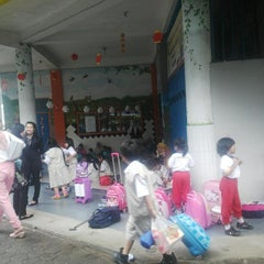 Photo taken at Paramount School by Indra G. on 1/21/2014