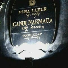 Photo taken at Pura Luhur Candi Narmada Tanah Kilap by Putrika W. on 1/6/2016
