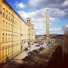 Photo taken at Salts Mill by Joyce S. on 4/4/2013