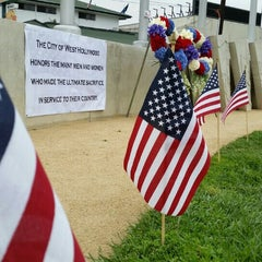 Photo taken at Sal Guarriello Veterans' Memorial by Jeff D. on 5/25/2015
