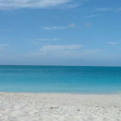 Photo taken at Club Med private beach by Jeremy on 1/27/2014