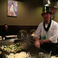 Photo taken at Kyoto Steakhouse by Scott W. on 3/16/2013