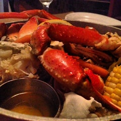 Photo taken at City Crab Shack by Hassan E. on 7/1/2013