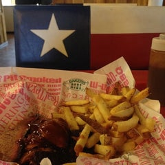 Photo taken at Baker's Ribs by Peter V. on 7/27/2015
