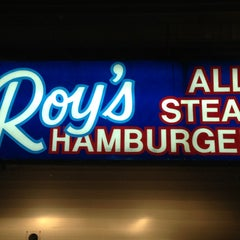 Photo taken at Roy's All Steak Hamburgers by Andy S. on 12/23/2012