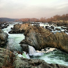 Photo taken at Great Falls National Park by Brett E. on 12/1/2012