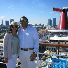 Photo taken at Port Of Miami - Carnival Cruise by Josue E. on 11/6/2015