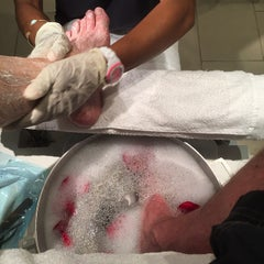 Photo taken at Bliss Spa at W Washington D.C. by Christopher D. on 4/21/2015
