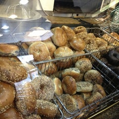 Photo taken at Ess-a-Bagel by Norah L. on 1/19/2013
