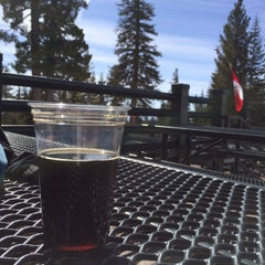 Photo taken at Summit Deck & Grill at Northstar California™ Resort by Trevor S. on 3/8/2015