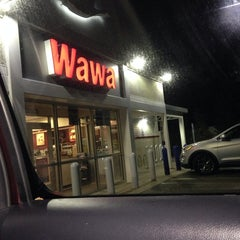 Photo taken at Wawa by Alexis Marie D. on 3/23/2014