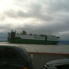 Photo taken at Galveston - Bolivar Ferry by Susan S. on 1/15/2013