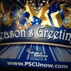 Photo taken at Public Service Credit Union by Vikki W. on 12/8/2012