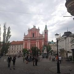 Photo taken at Ljubljana by Antonia T. on 5/20/2015